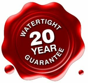 20 year leak free labor warranty