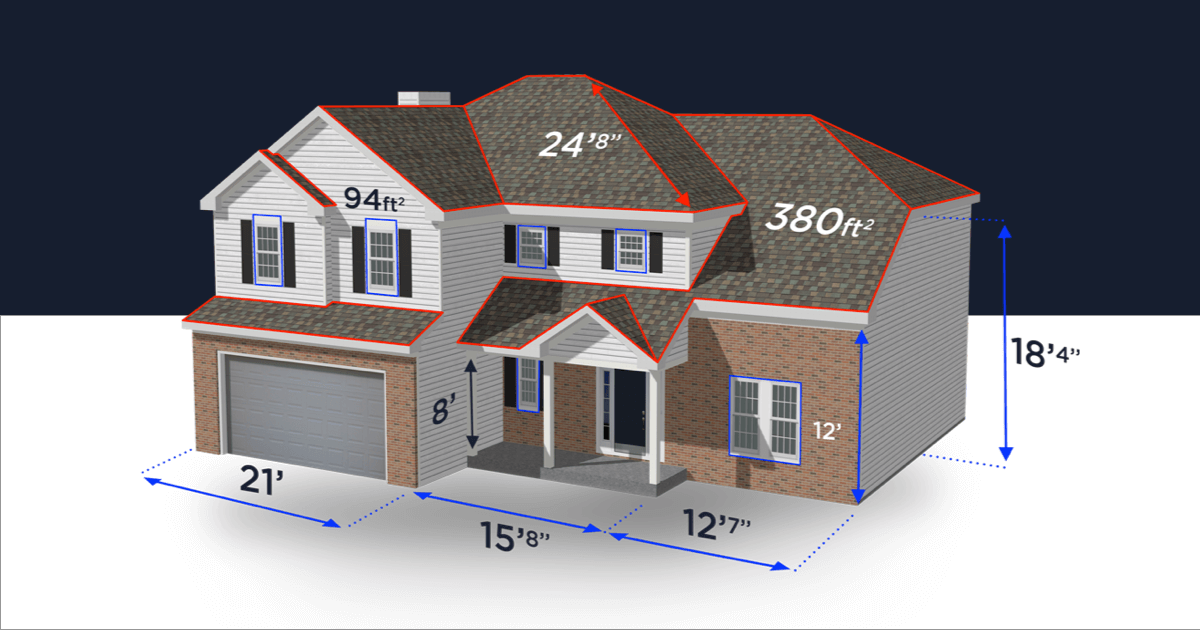3D Virtual World Estimating software-ROOFING INSPECTION