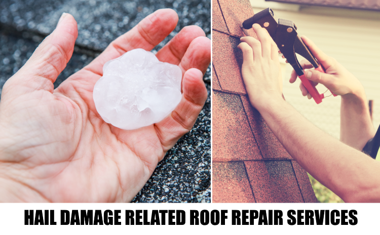 COMMON QUESTIONS - HAIL DAMAGE RELATED ROOF REPAIR SERVICES