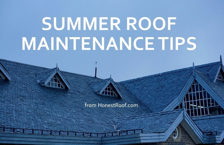 Summer Roof Maintenance Tips from Honest Roofer DFW Area
