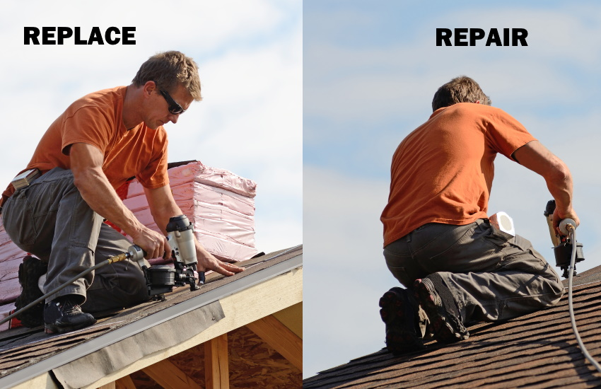 Roof Replacement or Roof Repair - Right Roofing Solution for Homeowners
